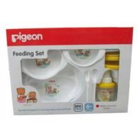 Pigeon Feeding set baby/ Peralatan makan bayi/Feeding set pigeon