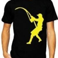 harga Kaos Terlaris Mancing Mania,tshirt Distro Fishing Hitam Tokopedia.com