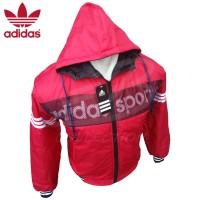 harga Jaket Adidas Pria Bahan Parasut Tebal Murah Hoodie / Adidas Sports Tokopedia.com