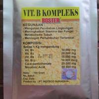 VITAMIN B KOMPLEKS meningkatkan stamina dan fungsi metabolisme ikan