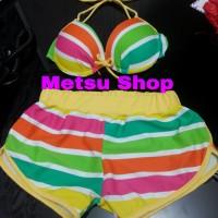 Lingerie Bikini Bra Set Sexy Swimming Seksi Pakaian Baju Renang Import