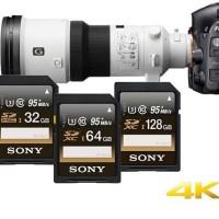 Sony SDXC UHS-I U3 Class 10 (95MB / S) 128GB - SF-GIUZ