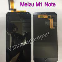 Lcd + Touchscreen Meizu M1 Note Black