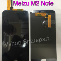 Lcd + Touchscreen Meizu M2 Note Black