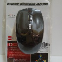 Gaming Mouse Wireless Optical 2.4GHz - Black