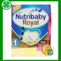 NUTRICIA Nutribaby Royal 1 400 Gram Box Soya Usia 0-6 Bln Susu Formula