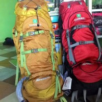 Consina alpinist 70+5 liter murah Murah Limited