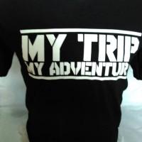 kaos my trip my adventure murah!!!!!! Limited Diskon