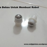 Roda Bebas Untuk Membuat Robot (Roda Depan)