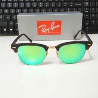 Kacamata Ray Ban Club Master Original Green Mirror