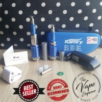 NEW Authentic Vape Mod Kamry Tech K100 Blue Biru