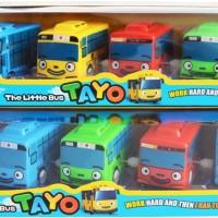 The Little Bus Tayo 5 Pcs - Mobil Tayo Murah