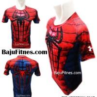 Jual Baju Kaos Pria Gym Mma Fitnes - The Spiderman Dust Murah