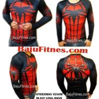 Baju Import Lengan Panjang - SPIDERMAN VENOM BLAST LONG HAND COSTUME