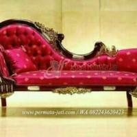 sofa louis jati ( furniture, sofa malas, sofa bed, kursi tamu )