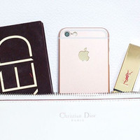 Best Deal IPHONE ROSE GOLD CASE/CASING HP IPHONE 4/4S/5/5S/6/6+ (HARDC