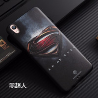 Best Deal Soft Case Casing HP Cover 3D Superhero Oppo F1 Plus + R9 Sil