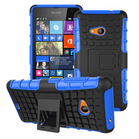 Luxury Casing RUGGED ARMOR HP Nokia Lumia 535 Microsoft Hard Case kick