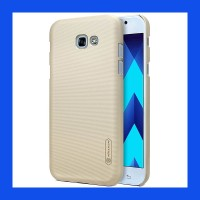 Samsung Galaxy A5 2017 Nillkin Frosted Hard Case Casing Cover - Emas