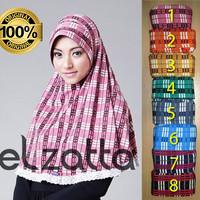 Jual Kerudung Jilbab Instant Bergo Zahra Ravina Elzatta Murah