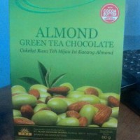 ALMOND GREEN TEA CHOCOLATE