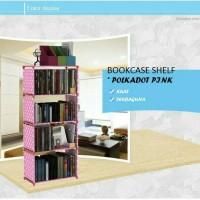 Rak Buku Serbaguna 5 susun rak portable