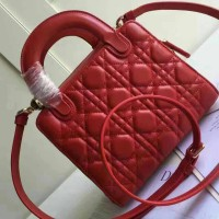 New lady dior 19cm original leather Rp 3.350.000,-