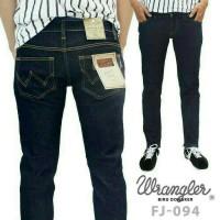 Celana Jeans Wrangler Biru Dongker / Celana Panjang Pria