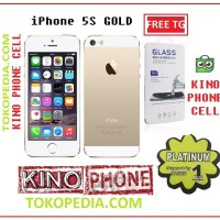 iphone 5s 16 gb gold 16gb refurbised garansi distributor 1 tahun