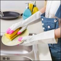 Sarung Tangan Karet untuk Mencuci Berkebun PANJANG (WN78)