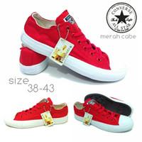 PROMO!! Sepatu Converse Harga Murah All Star Warna Merah/Red
