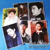 Poster Lee Jung Suk dan Poster Park Bo Gum Ukuran A4 1 set 6 lembar