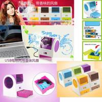 Fan Air Cooler Portable: Kipas Angin Model AC Mini Ukuran Kecil USB