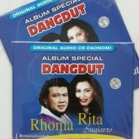 CD EKONOMIS RHOMA IRAMA DAN RITA SUGIARTO - ALBUM SPECIAL DANGDUT