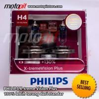 Philips Xtreme Vision PLUS H4 60/55 lebih terang 130%