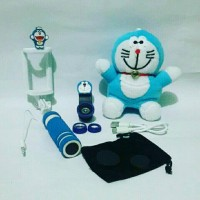 harga Paket Hemat Doraemon * Pb Boneka + Fisheye 3in1 + Tongsis * Tokopedia.com