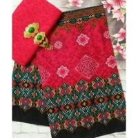 Kain Batik Embos Anjani mawar ayu