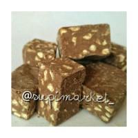 Jual coklat mede patahan (coklat dan coklat putih Murah
