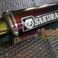 Knalpot Racing CBR150 / Cb150r Sakura Rainbow Series Racing Custom