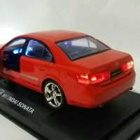 miniatur mobil hyundai sonata diecast rmz pajangan murah kado
