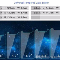 Tempered Glass Universal 4,5