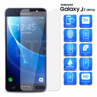 Samsung Galaxy J7 J710 (2016) - Clear Tempered Glass Screen Protector
