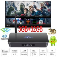 (Ram 3/ Rom 32) Android Tv Box X92 Octa Core 64-bit + Kodi 17.1 Loaded