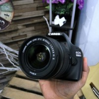 Canon 1100D + Lensa 18 MM is II