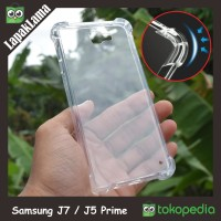 Anti Crack Case Samsung Galaxy J5 / J7 Prime Anti Knock Soft Back Case
