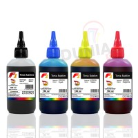 Tinta Sublim F1 Ink for Printer Epson 1 Set Warna CMYK 100ml Original