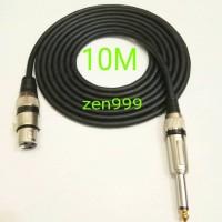 Jual kabel mic/kabel mic audio teknica original 10 M full Murah