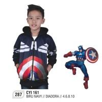 Jual Jaket Anak Laki-Laki Captain America CATENZO JUNIOR Murah
