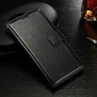 Leather Flip Cover Wallet Samsung J5 Prime On5 2016 Dompet Kulit Case