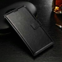 Leather Flip Cover Wallet Samsung J5 Prime On5 2016 Dompet Kulit Case